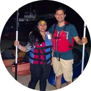night_kayaking